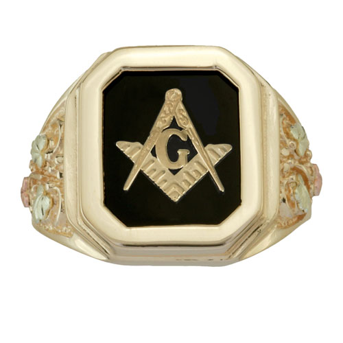 4 gold masonic ring
