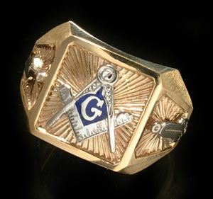 Some Masonic Rings Can Have Great Meaning | Masonic Jewelry